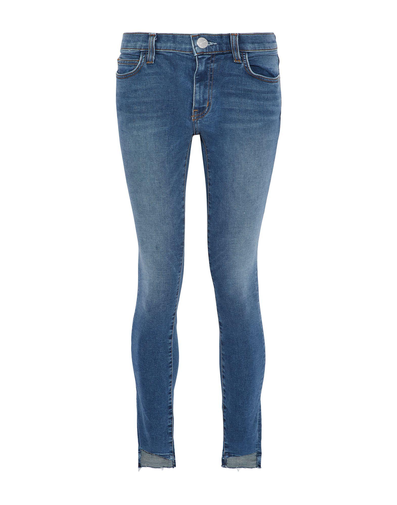 Фото - CURRENT/ELLIOTT Джинсовые брюки high waist ripped skinny pants