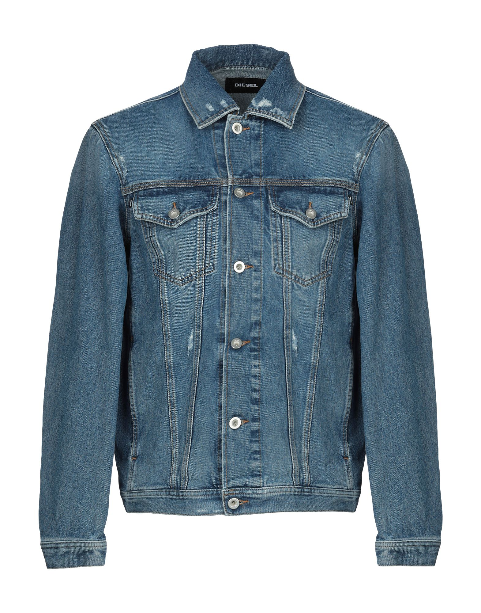 DIESEL Джинсовая верхняя одежда le volière джинсовая верхняя одежда