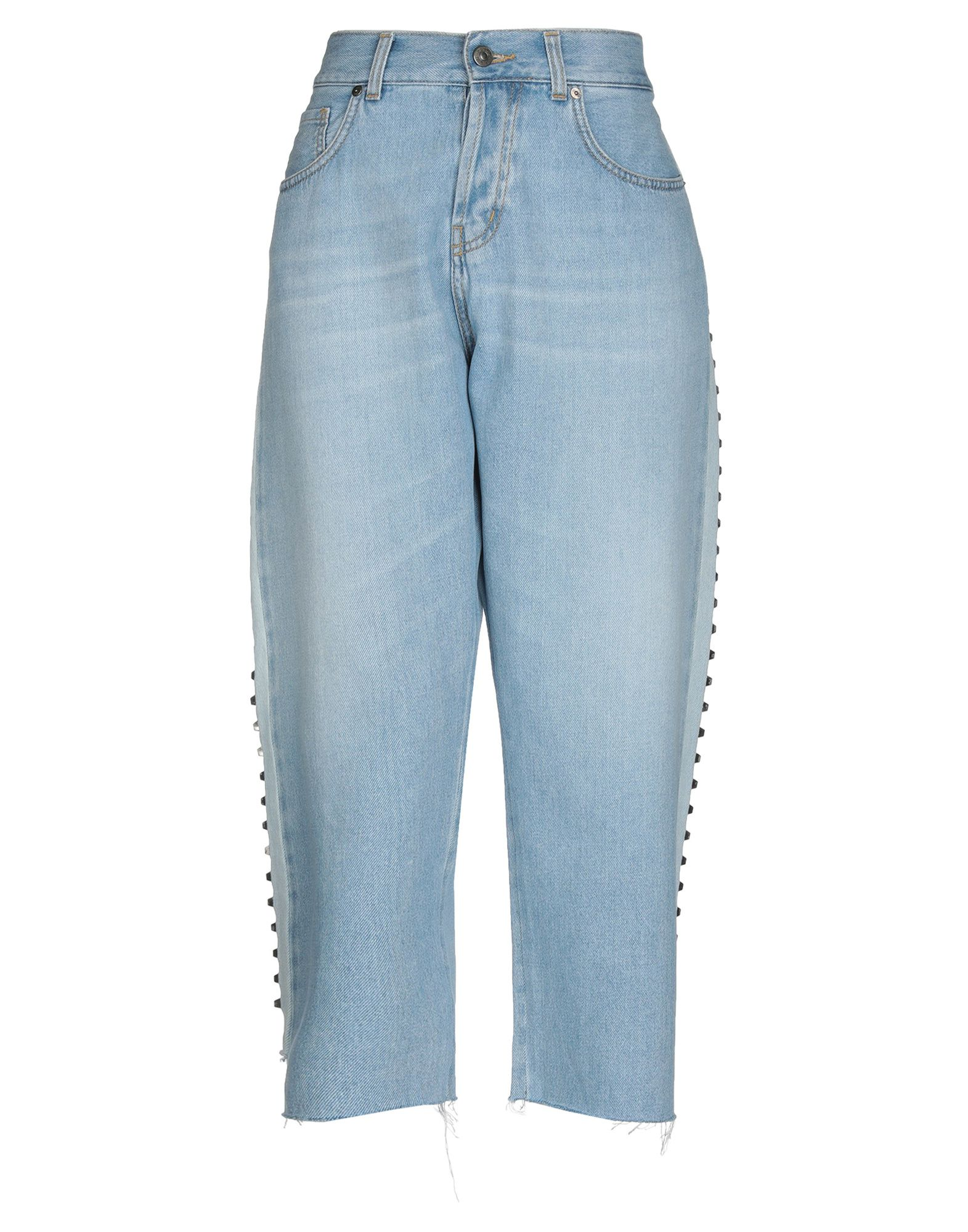 GAëLLE Paris Джинсовые брюки-капри цена 2017