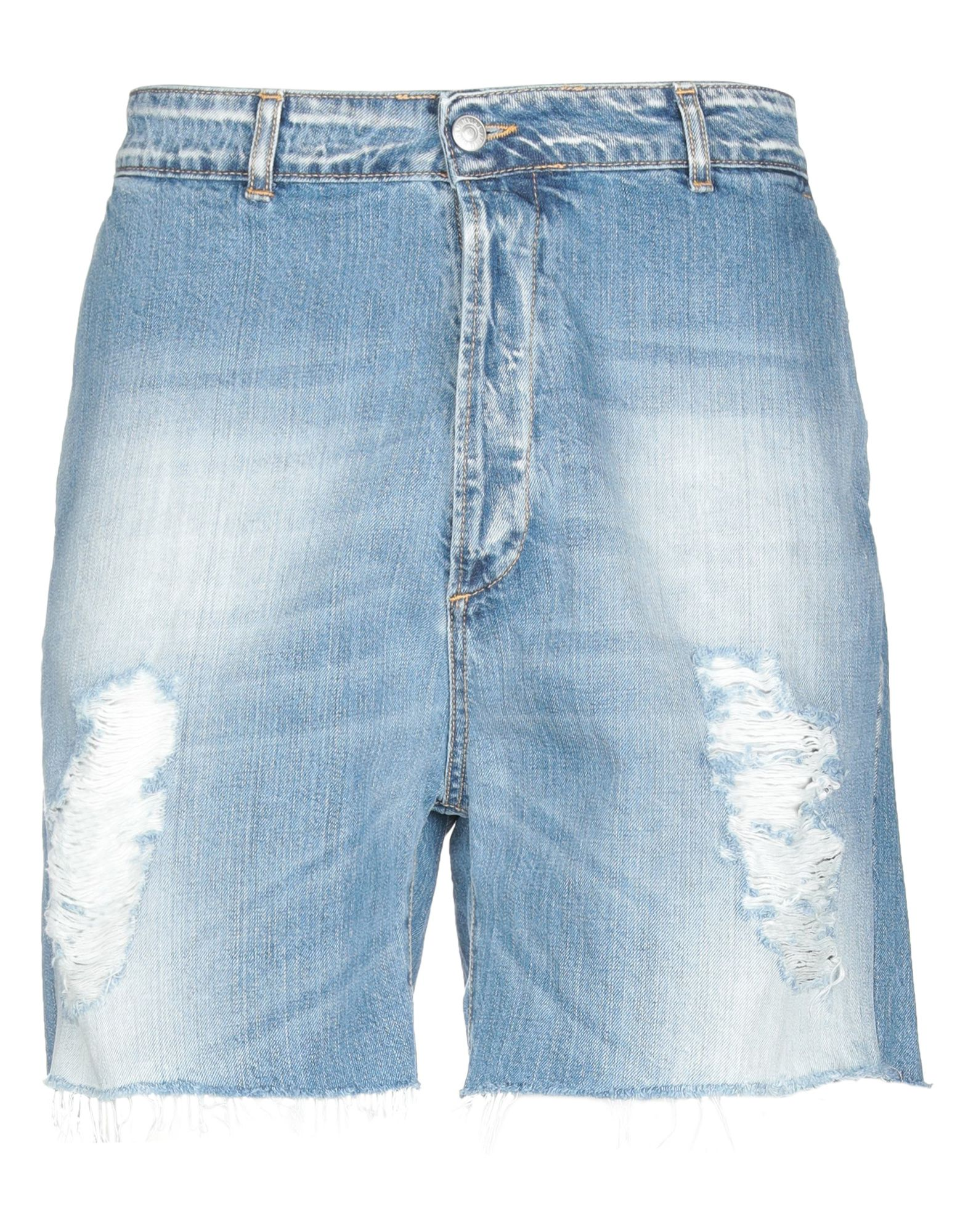 《期間限定セール中》IMB I'M BRIAN メンズ デニムバミューダパンツ ブルー 34 コットン 100%