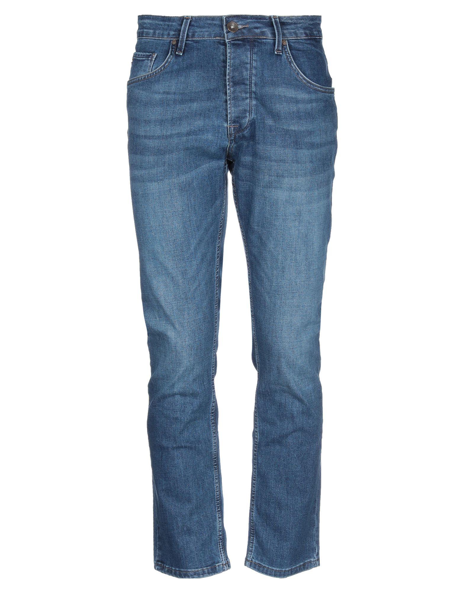 《送料無料》FIVE POCKET メンズ ジーンズ ブルー 31W-30L コットン 83% / レーヨン 15% / ポリウレタン? 2%