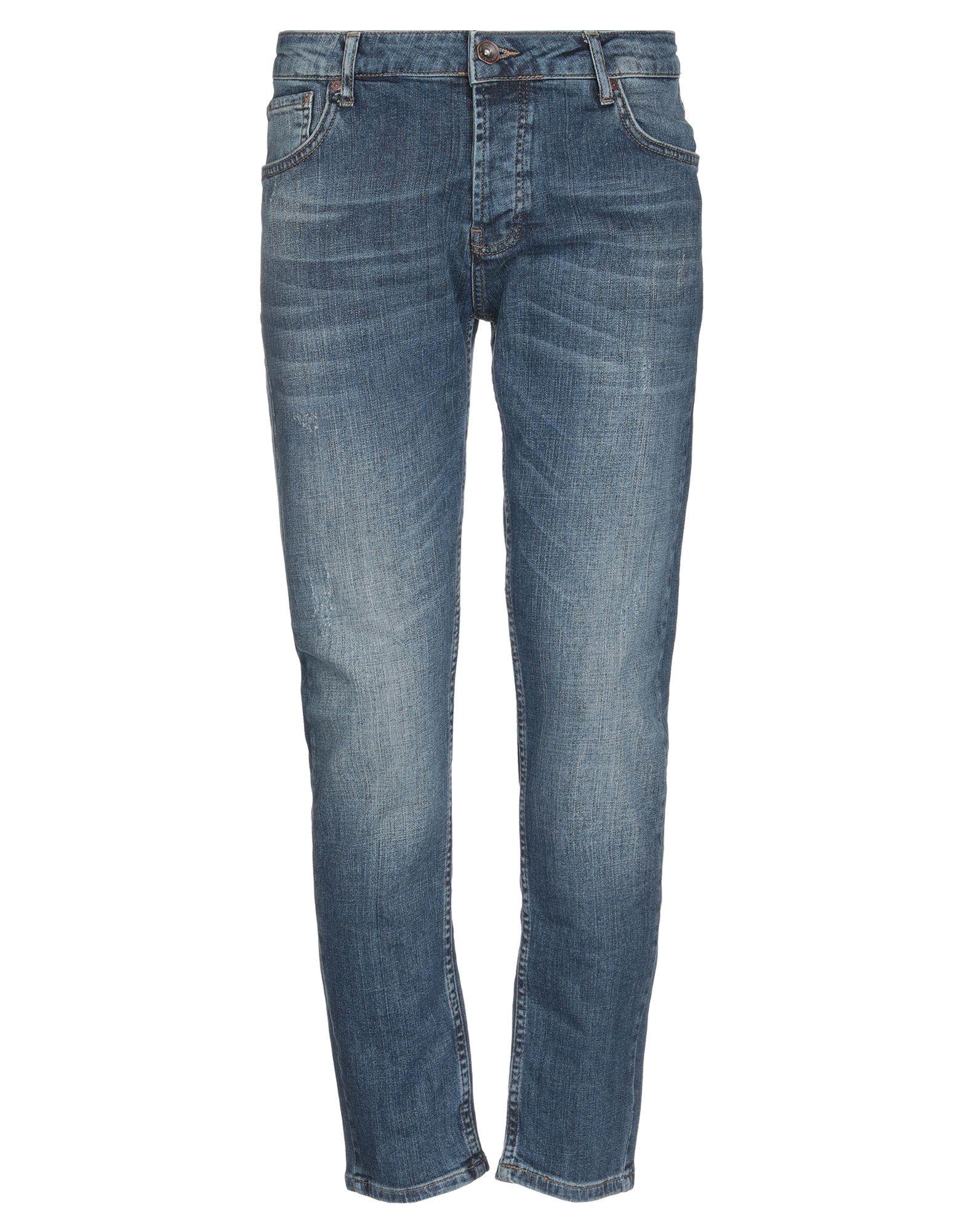 《送料無料》FIVE POCKET メンズ ジーンズ ブルー 30W-30L コットン 98% / ポリウレタン 2%