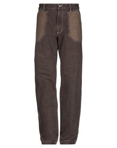 Фото - Джинсовые брюки цвет какао