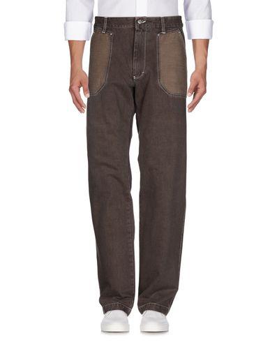 Фото 2 - Джинсовые брюки цвет какао