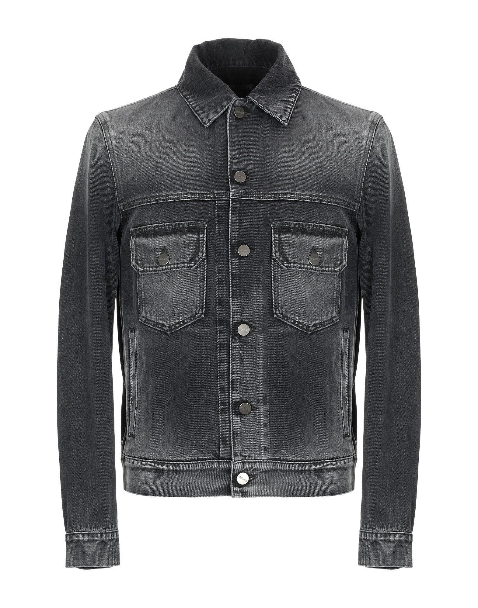 ROBERTO CAVALLI Джинсовая верхняя одежда недорго, оригинальная цена