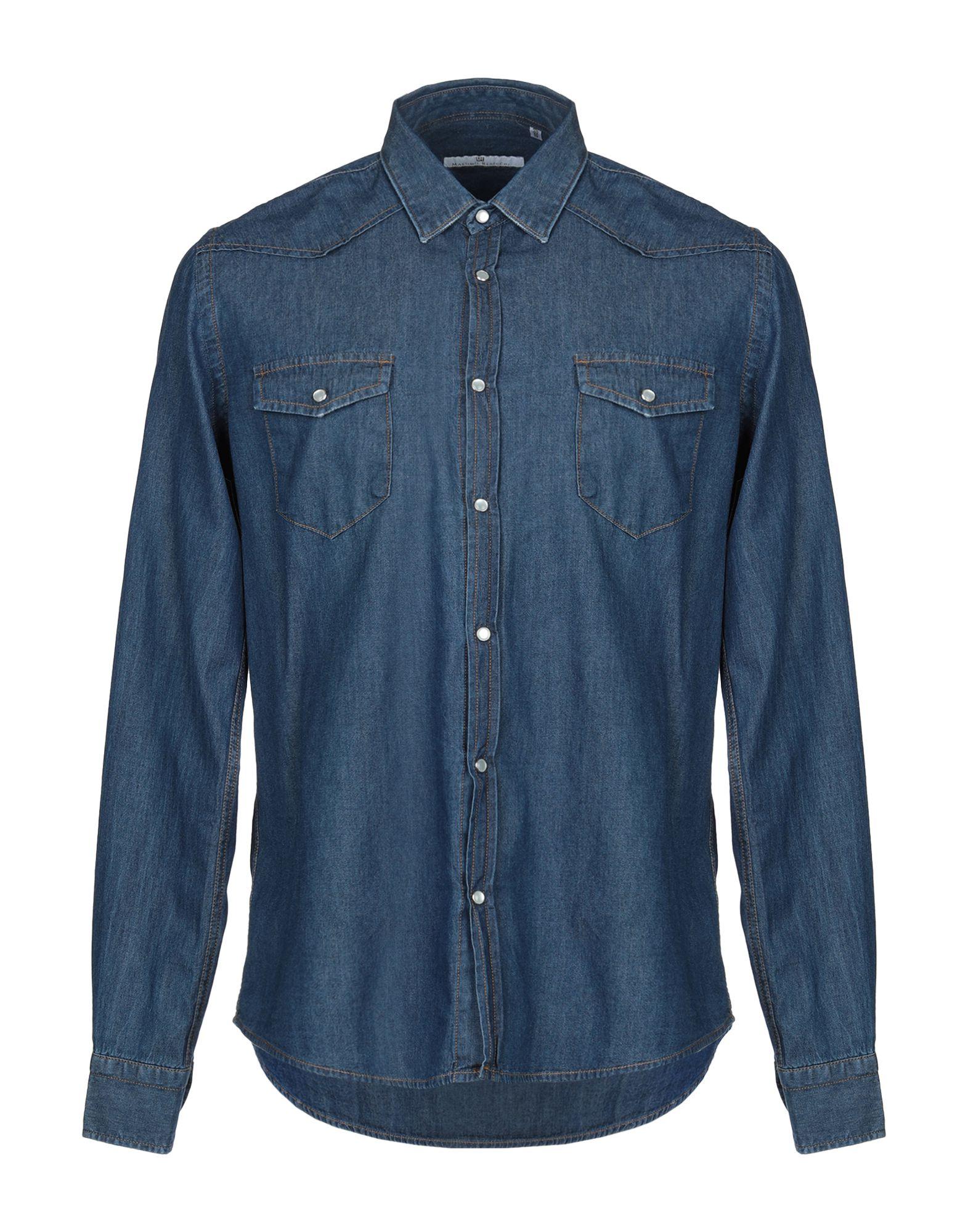 MR MASSIMO REBECCHI Джинсовая рубашка недорго, оригинальная цена
