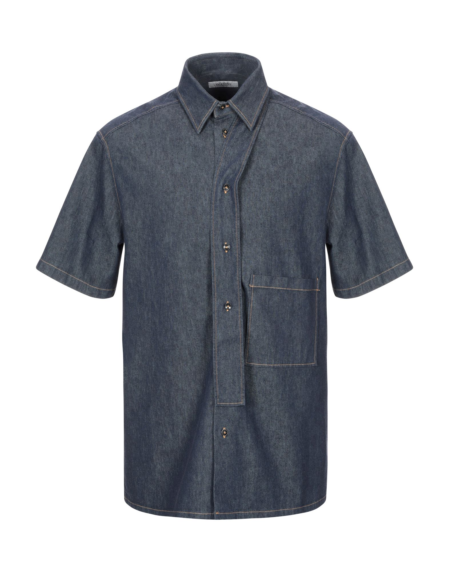 Фото - VALENTINO Джинсовая рубашка рубашка greg greg mp002xm05sgb