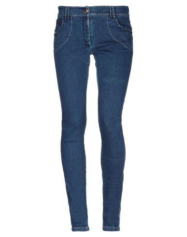 Фото - Джинсовые брюки от SUNDAY SCHOOL TEACHER синего цвета