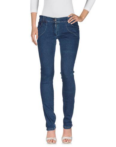 Фото 2 - Джинсовые брюки от SUNDAY SCHOOL TEACHER синего цвета