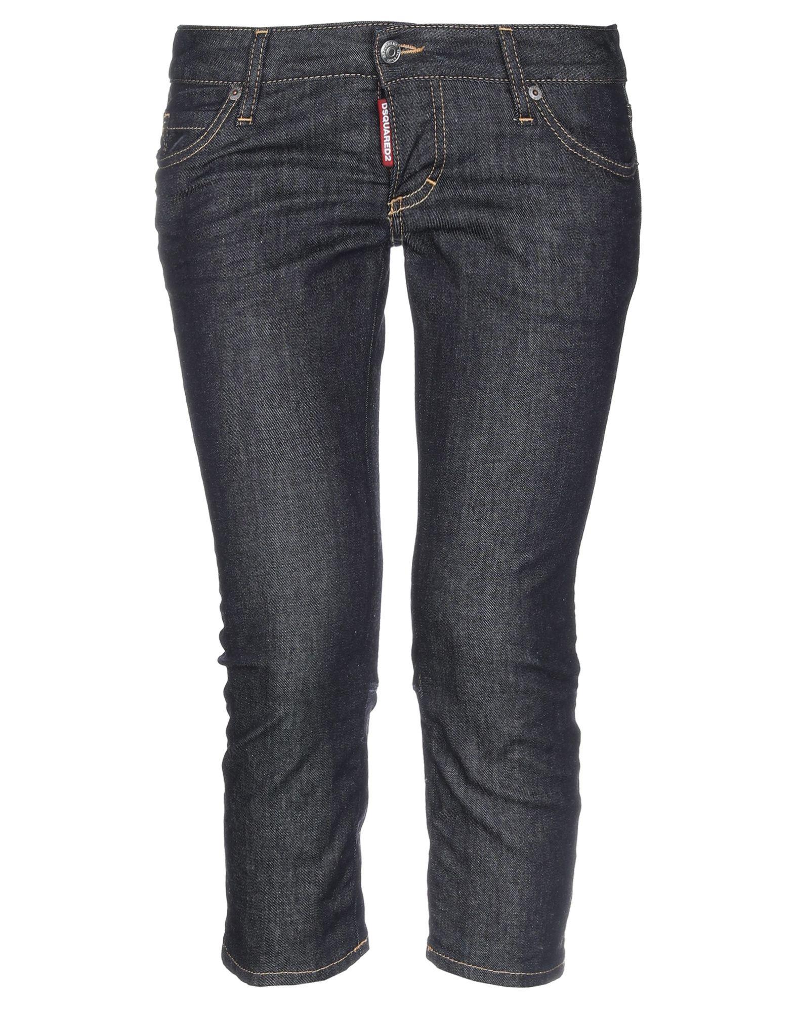 DSQUARED2 Джинсовые брюки-капри все цены