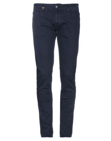 Фото - Джинсовые брюки от DW FIVE темно-синего цвета