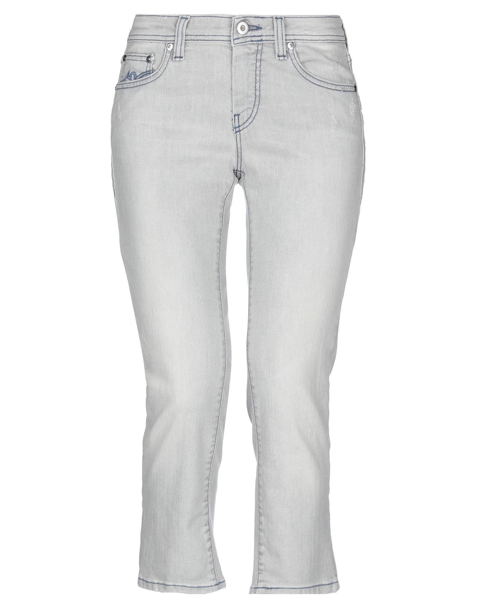 купить PT0W Джинсовые брюки-капри по цене 3400 рублей
