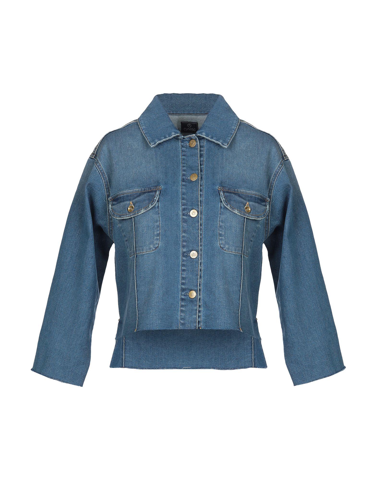 Acynetic Denim Jacket In Blue