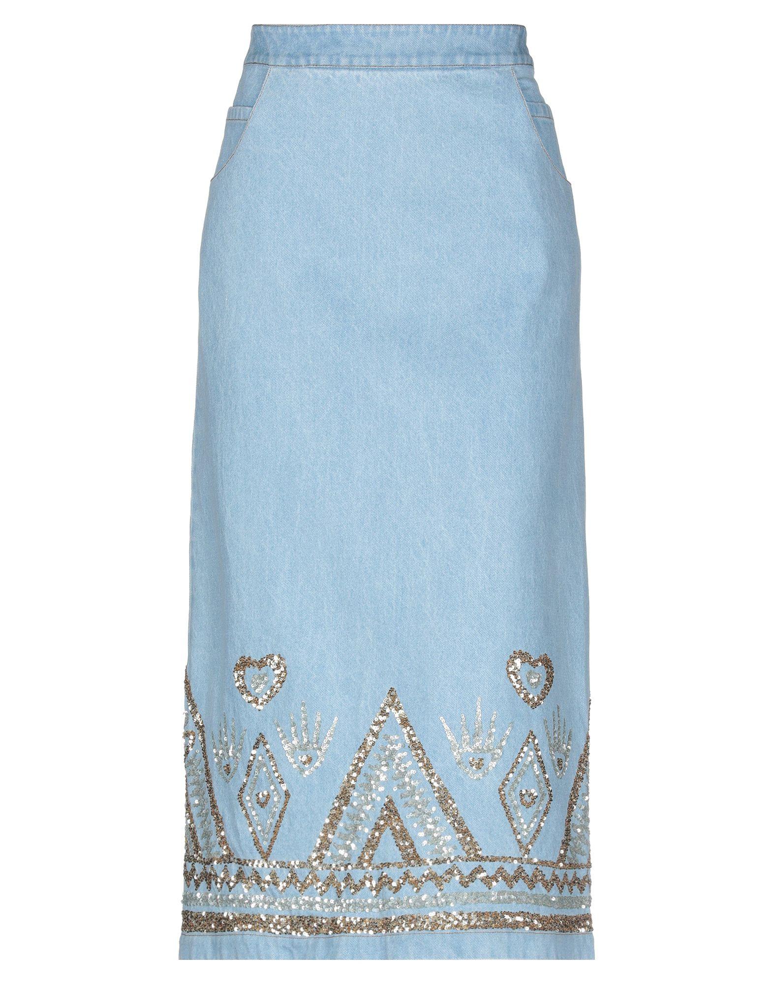 MANISH ARORA Джинсовая юбка недорго, оригинальная цена