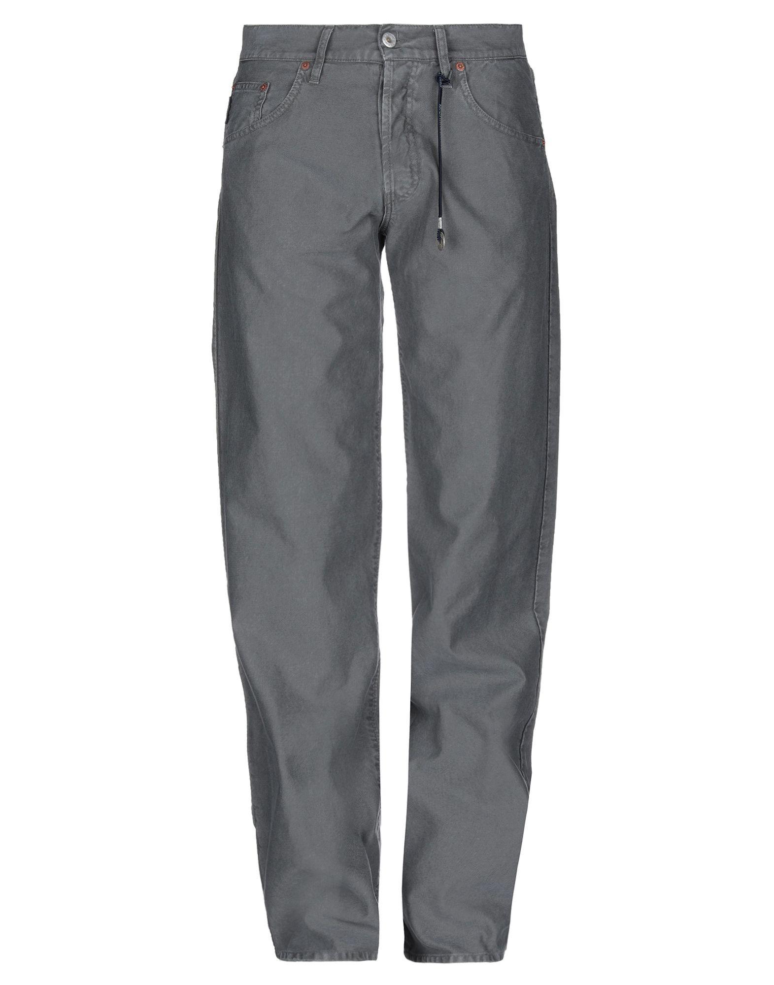 купить JEANS MICHIKO KOSHINO Джинсовые брюки по цене 5000 рублей