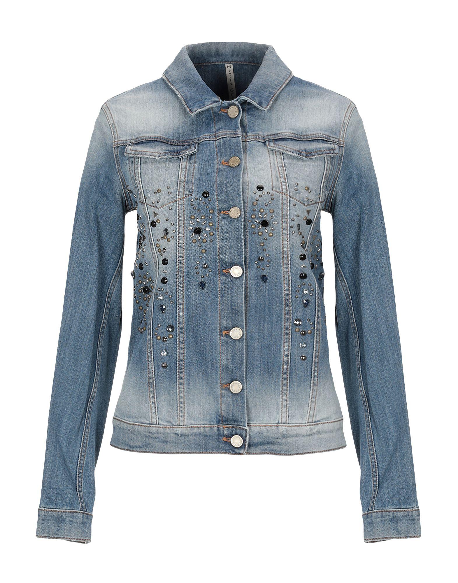 MANILA GRACE Джинсовая верхняя одежда manila grace джинсовая верхняя одежда