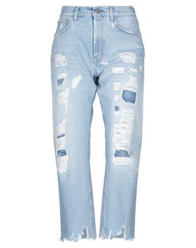 Купить Джинсовые брюки от DON THE FULLER синего цвета