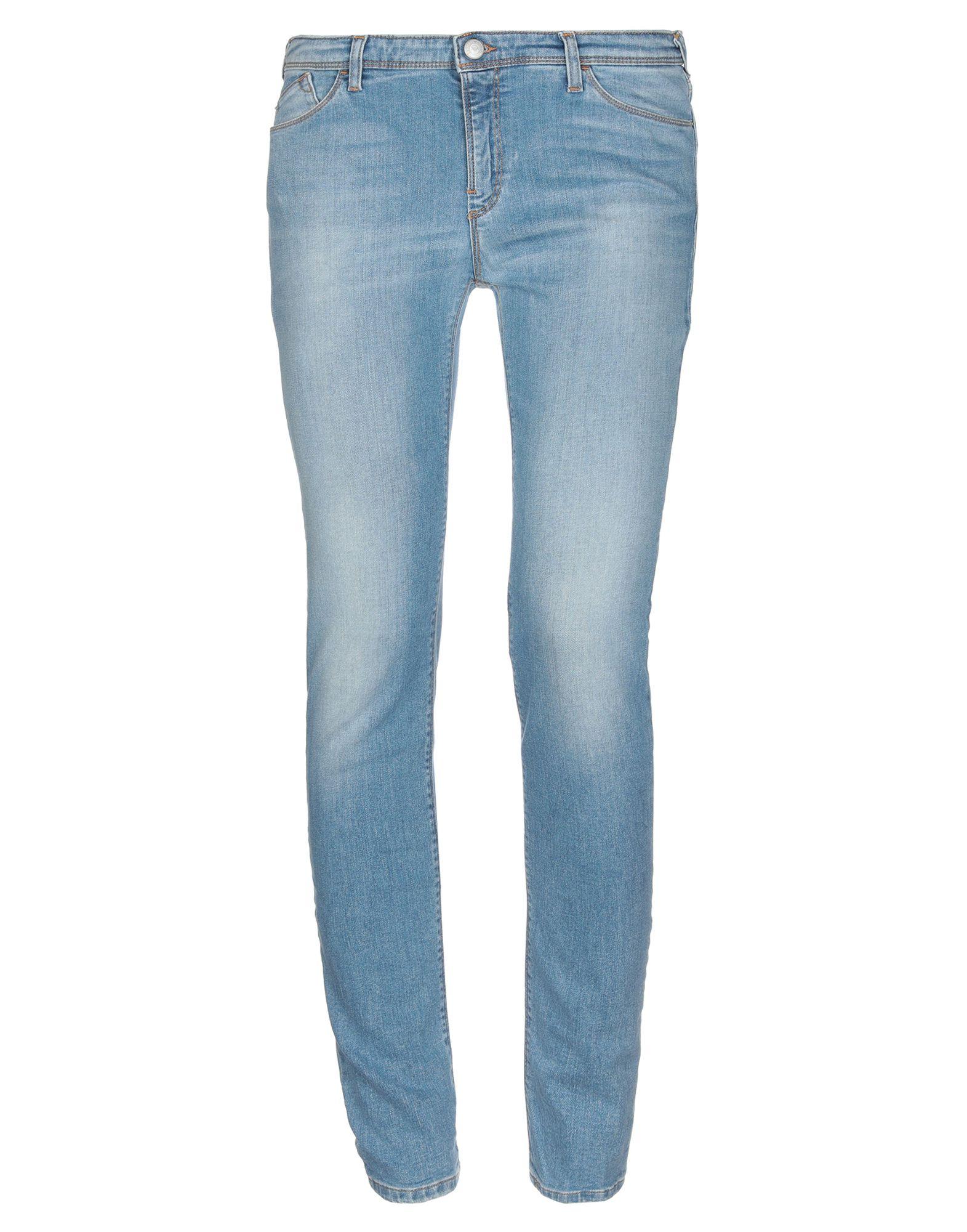 EMPORIO ARMANI Джинсовые брюки