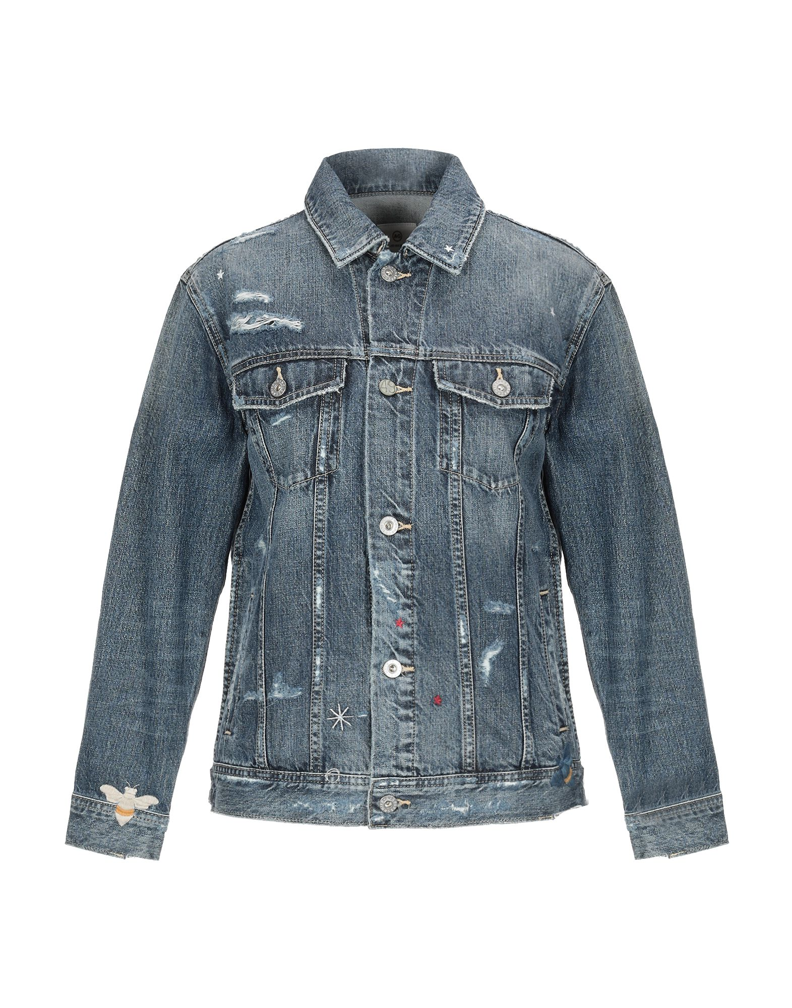 AG JEANS Джинсовая верхняя одежда цена 2017
