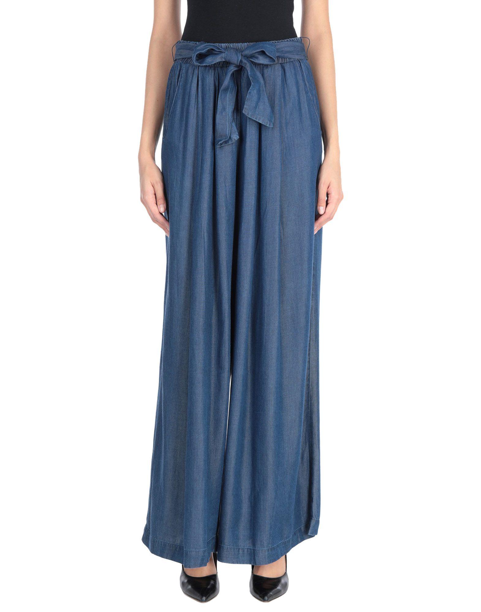 EMMA & GAIA Джинсовые брюки dress emma monti платья и сарафаны приталенные