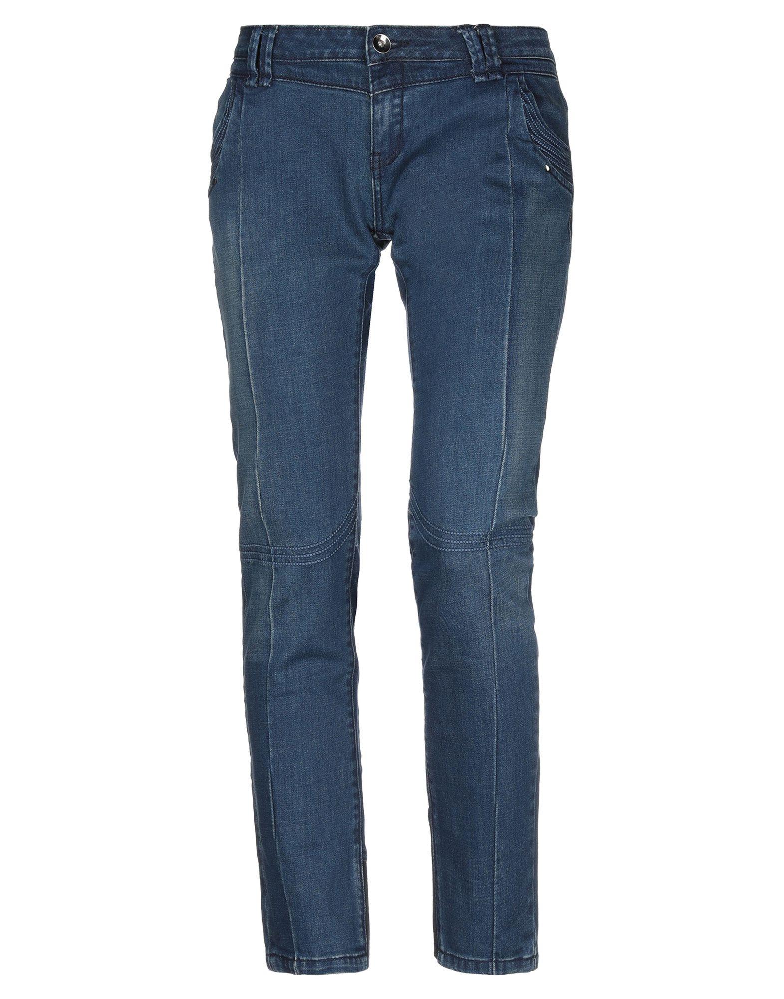 PURE OXYGEN Джинсовые брюки цены онлайн