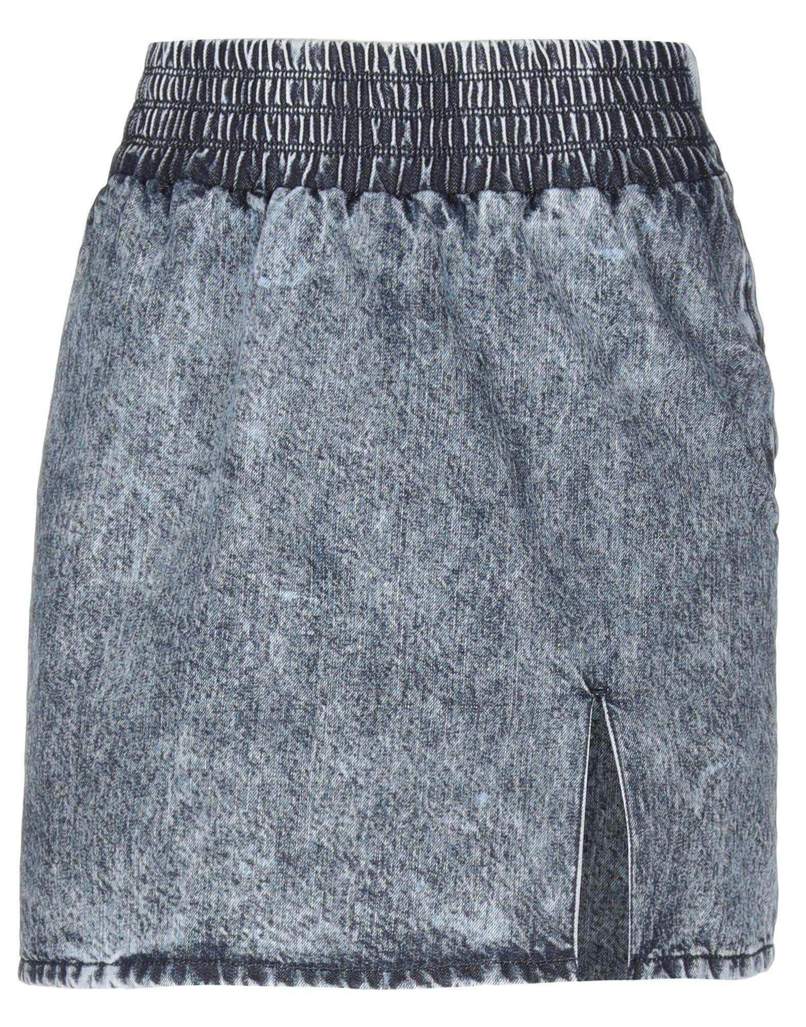 MIU MIU Джинсовая юбка miu miu черный шерстяной кардиган