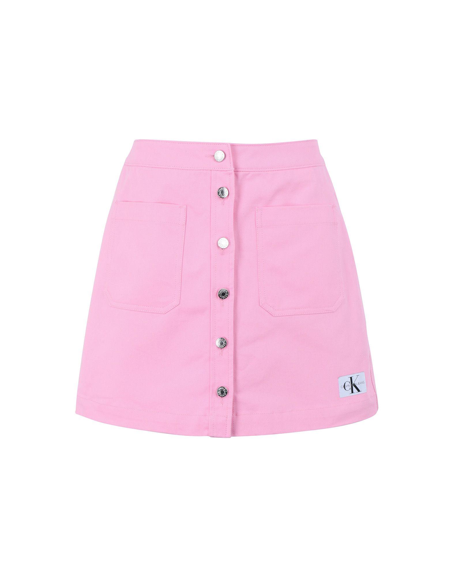 цена на CALVIN KLEIN JEANS Джинсовая юбка