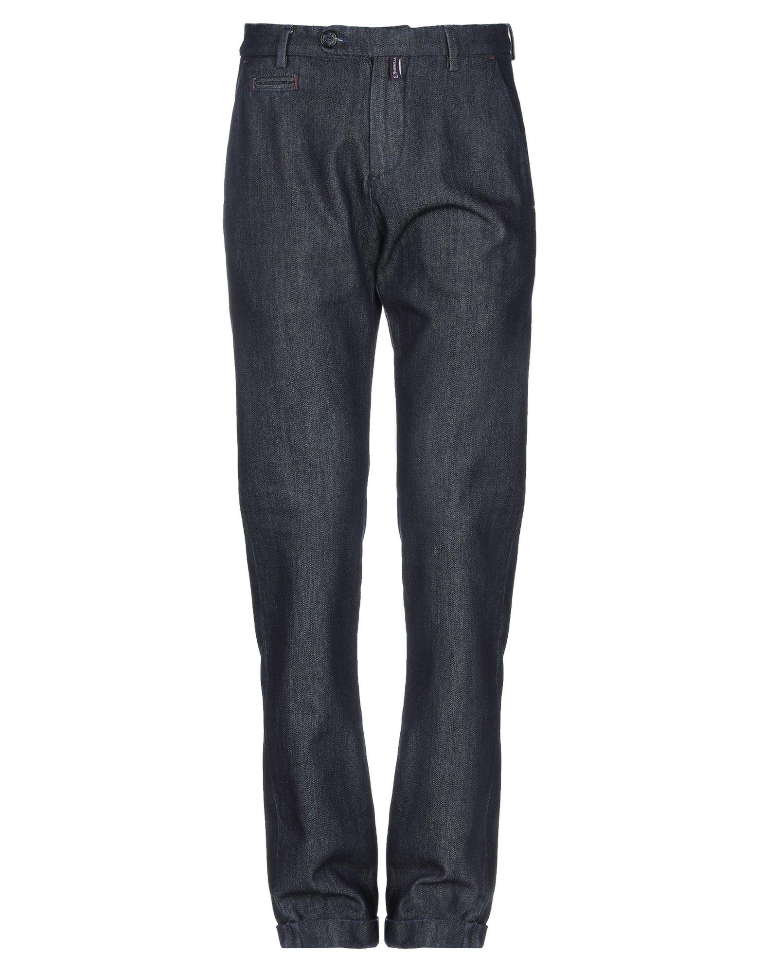 《セール開催中》E.MARINELLA メンズ ジーンズ ブルー 32 コットン 98% / ポリウレタン 2%