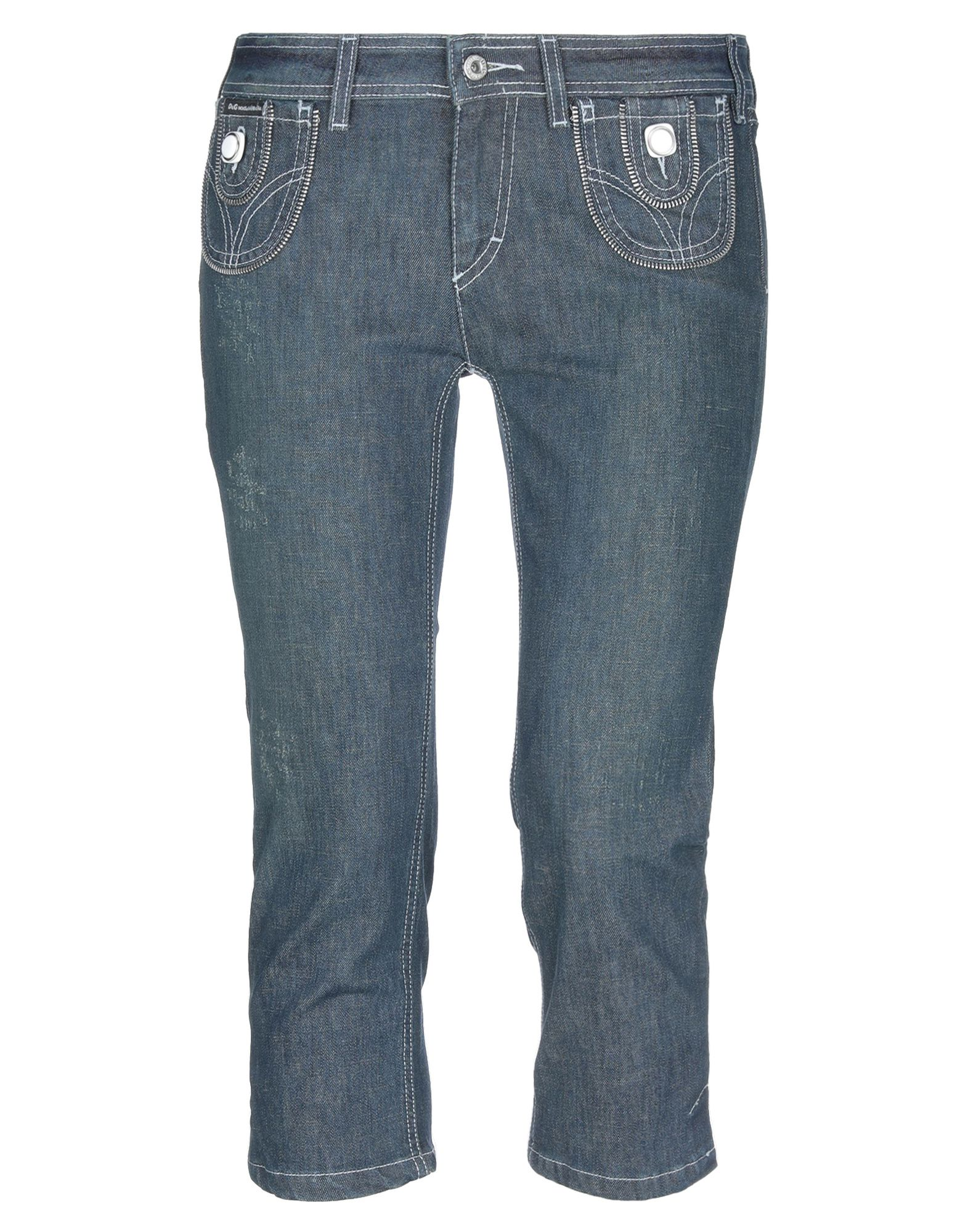 DOLCE & GABBANA Джинсовые брюки-капри