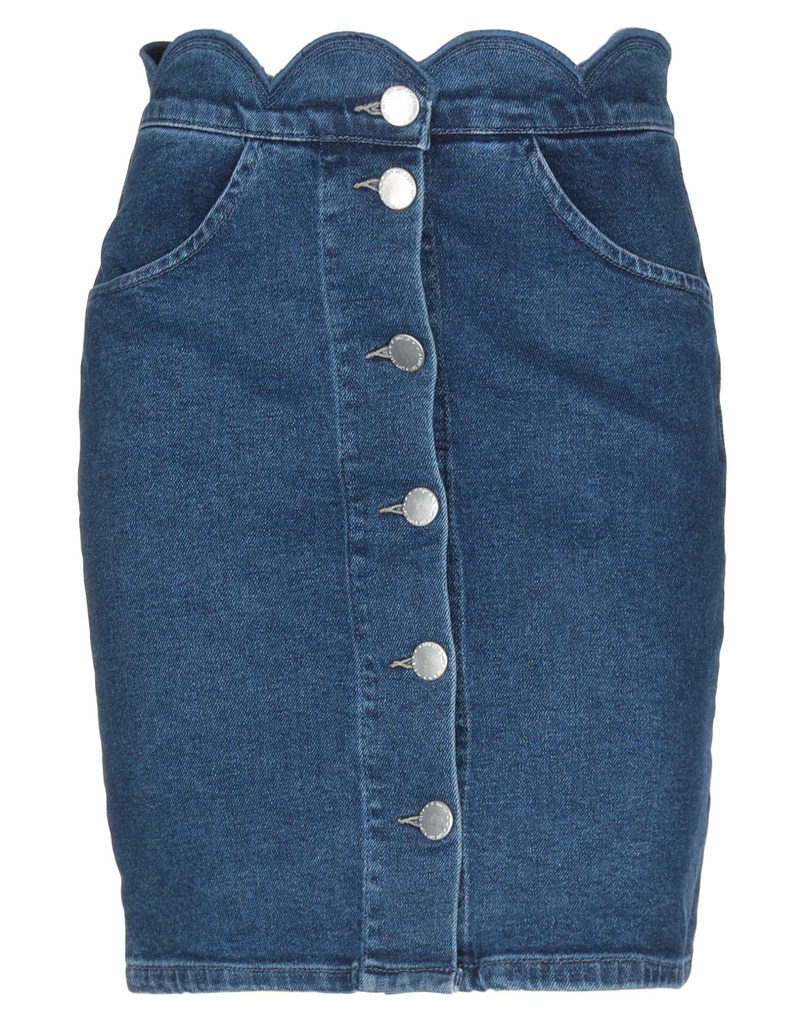 MAJE Джинсовая юбка maje длинная юбка