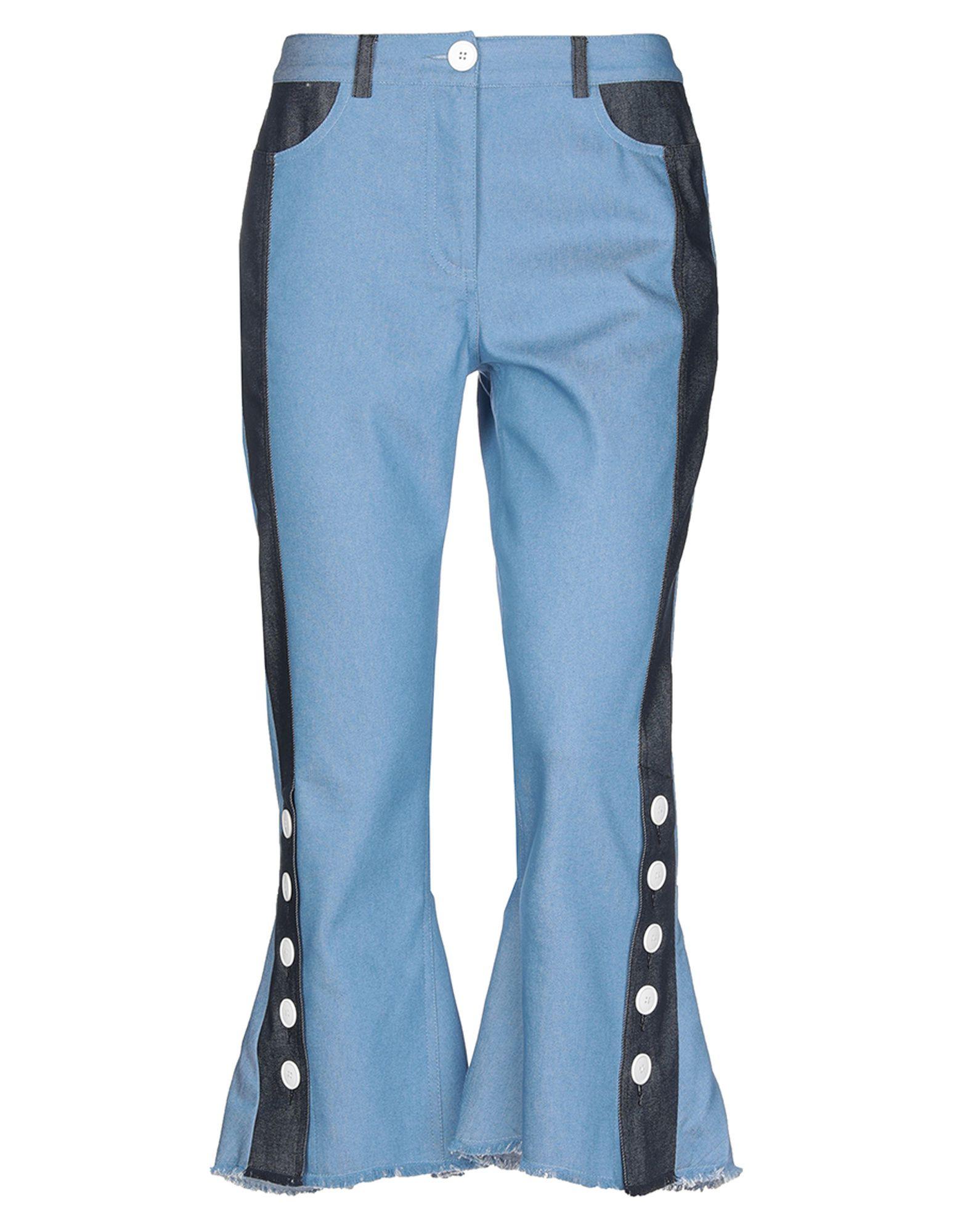 EUDON CHOI Джинсовые брюки недорого