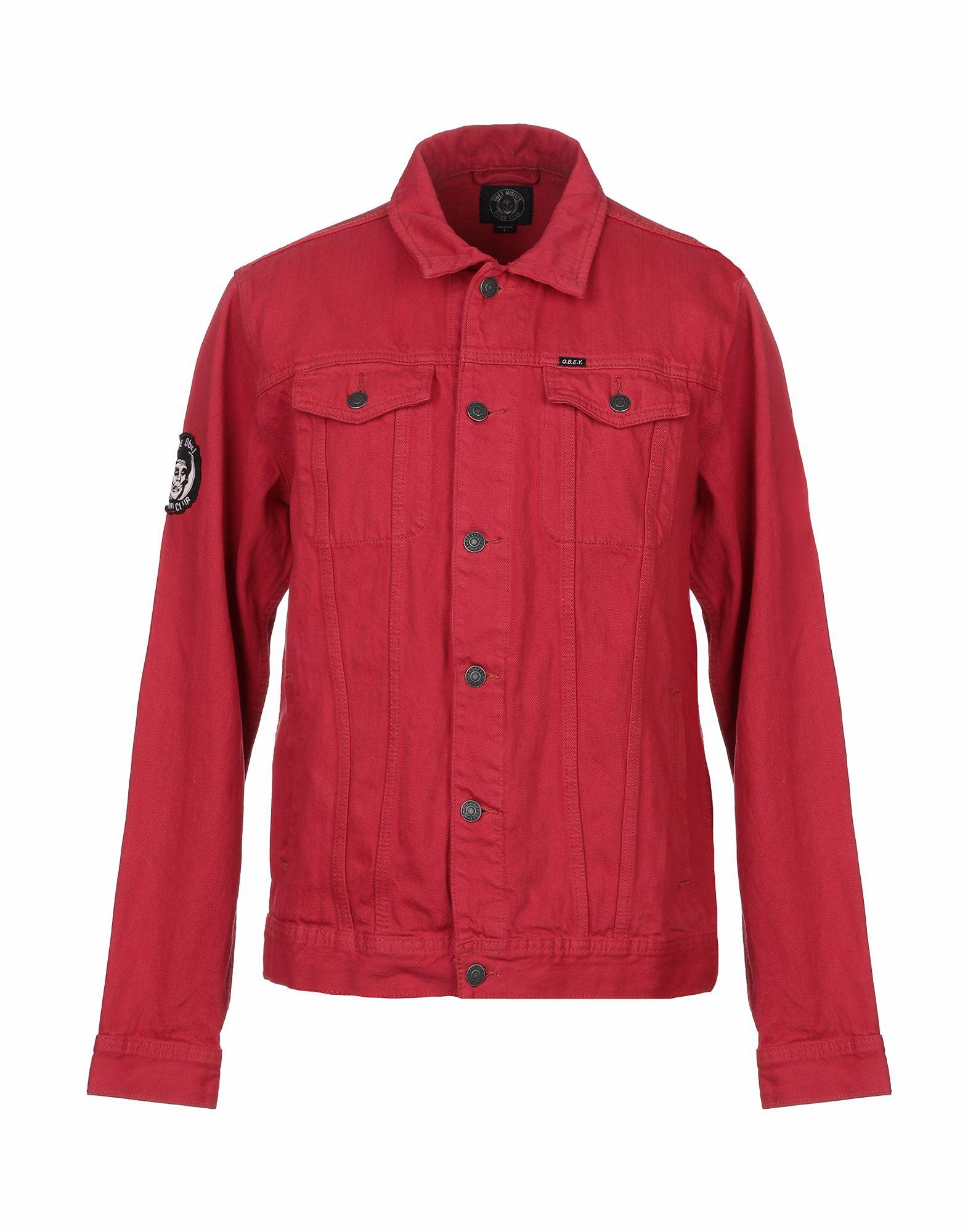 OBEY Джинсовая верхняя одежда цена 2017