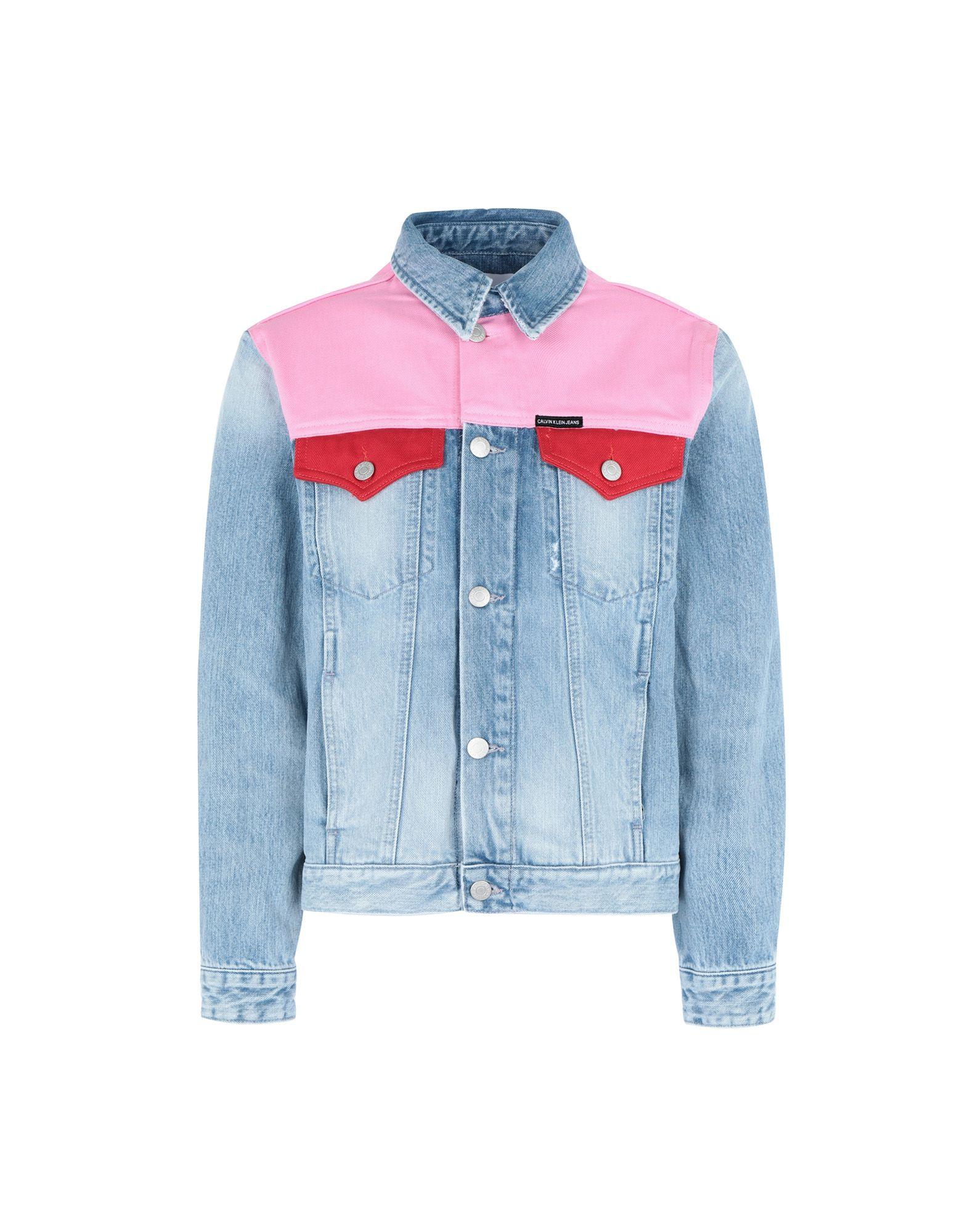 CALVIN KLEIN JEANS Джинсовая верхняя одежда calvin klein jeans джинсовая верхняя одежда