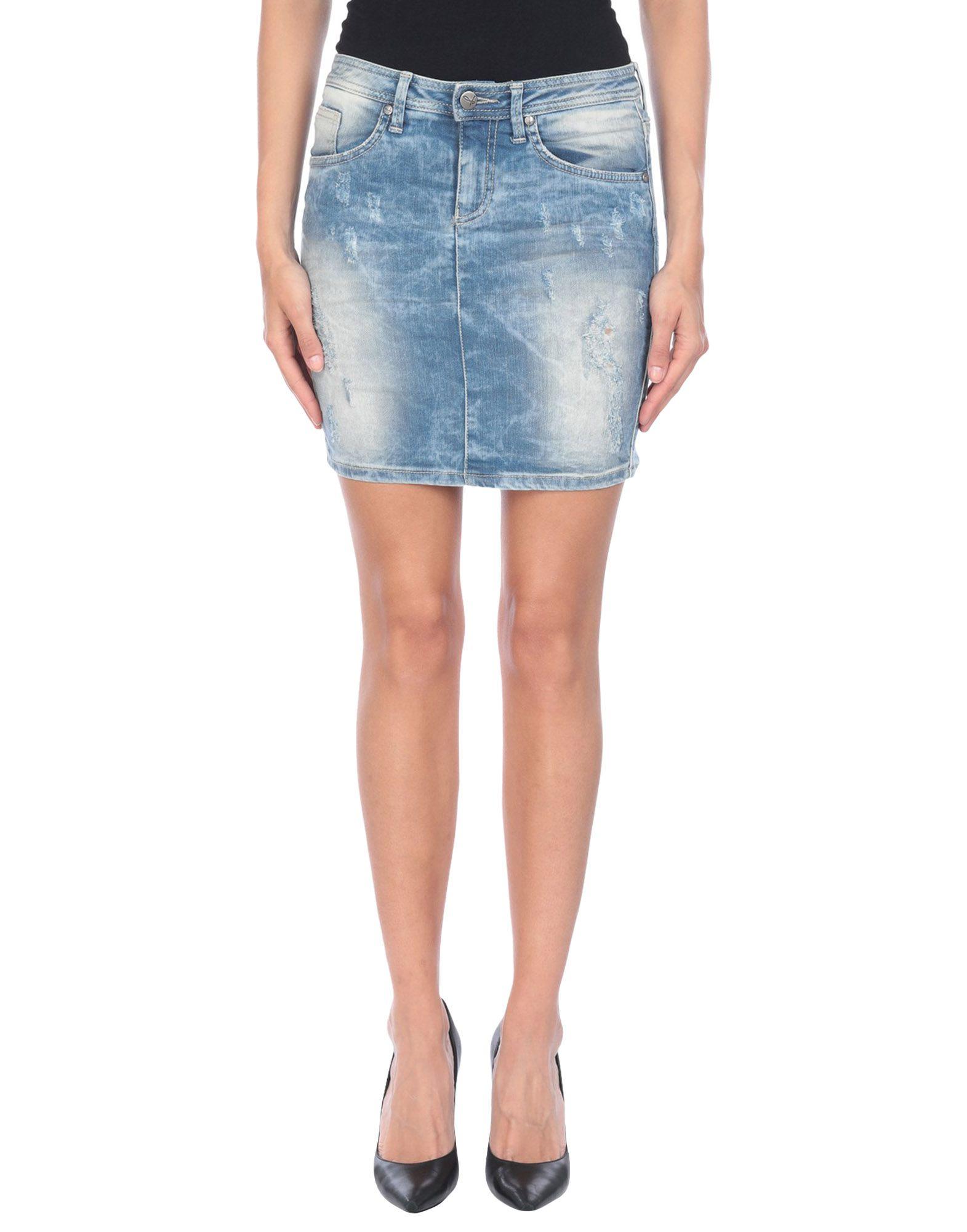 Фото джинсовых юбок