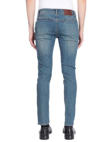 Фото 2 - Джинсовые брюки от HISTORIC синего цвета