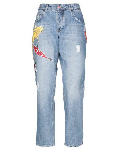 Фото - Джинсовые брюки от DAWID TOMASZEWSKI синего цвета