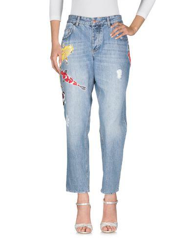 Фото 2 - Джинсовые брюки от DAWID TOMASZEWSKI синего цвета