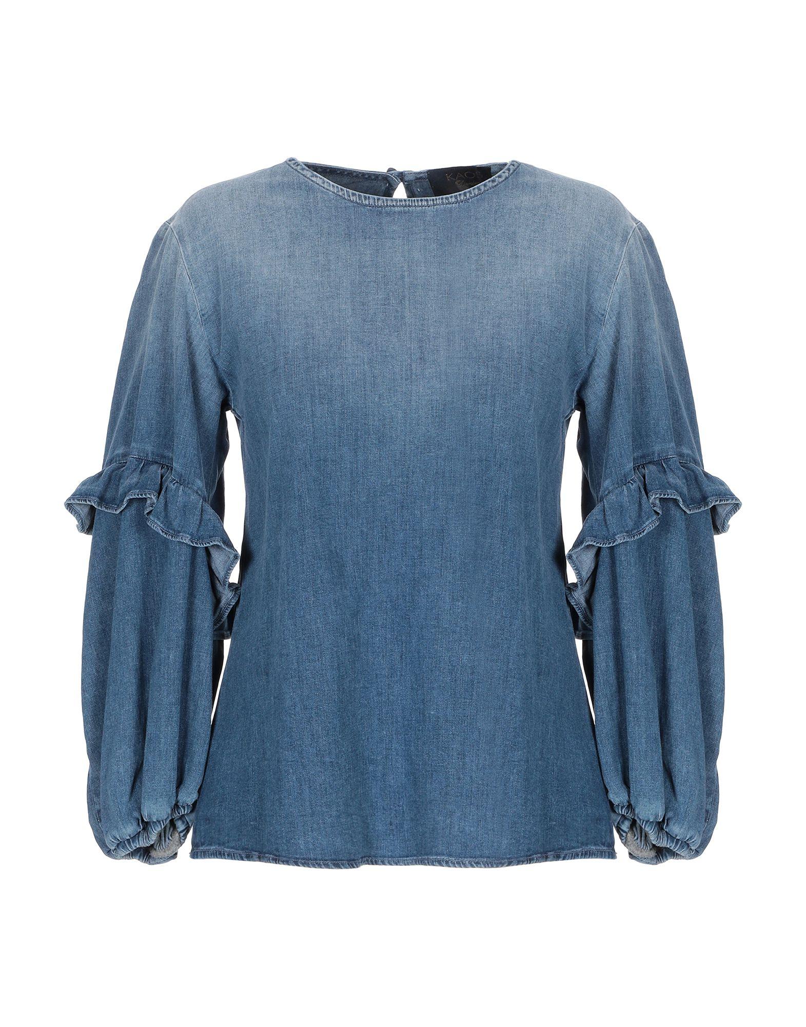 KAOS JEANS Джинсовая рубашка цена 2017