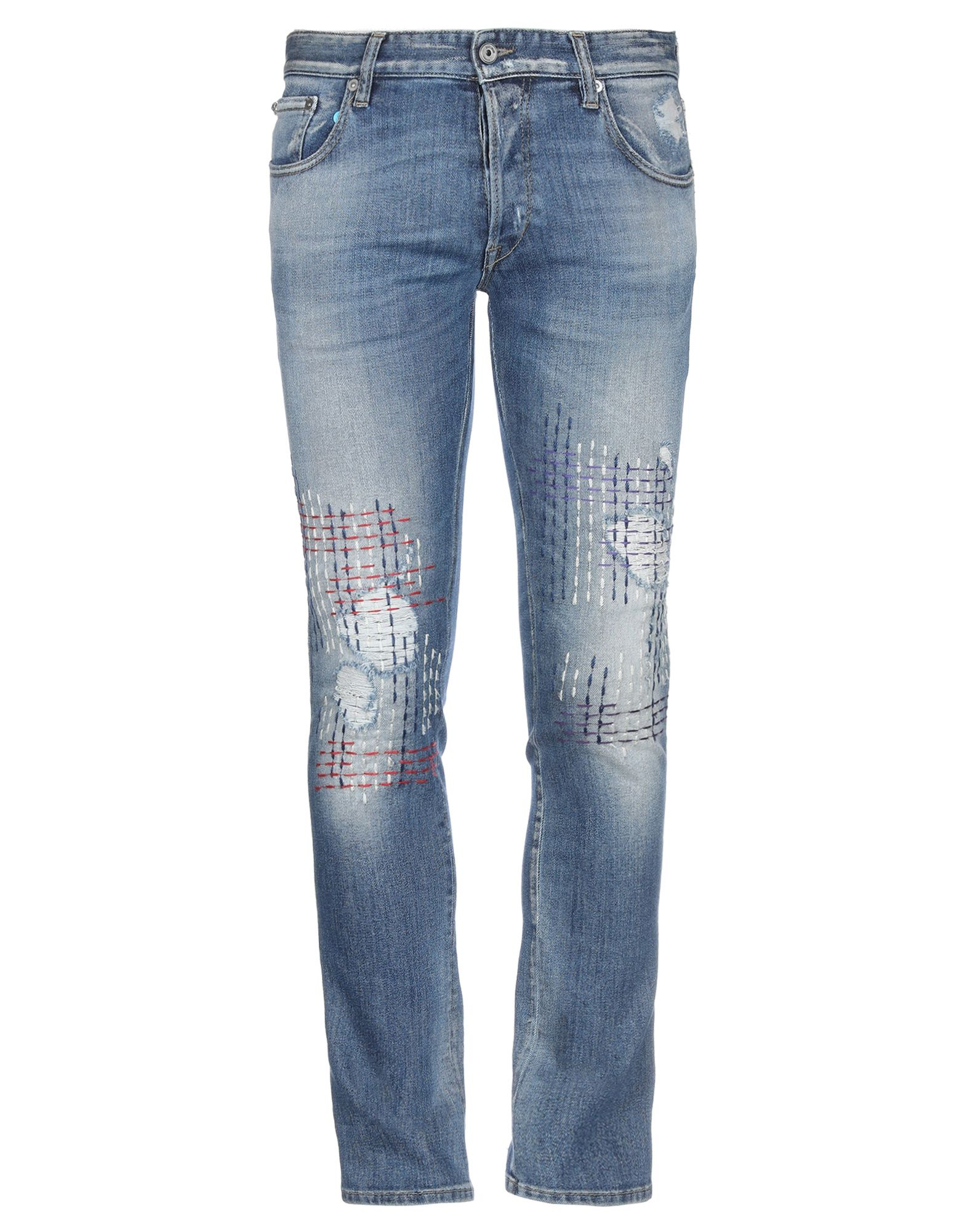 JUST CAVALLI Denim pants - Item 42732355