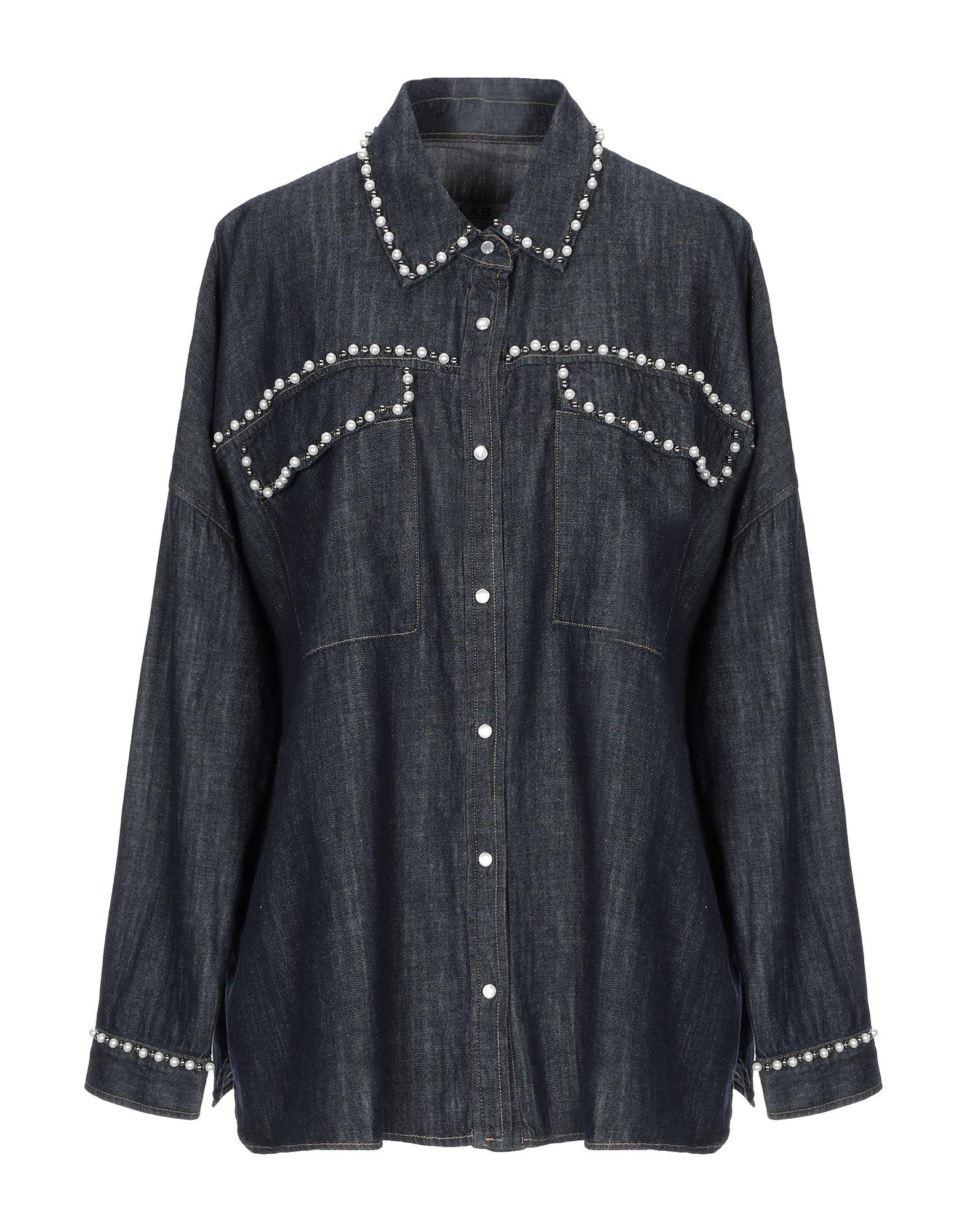LAB ANNA RACHELE Джинсовая рубашка рубашка oodji lab