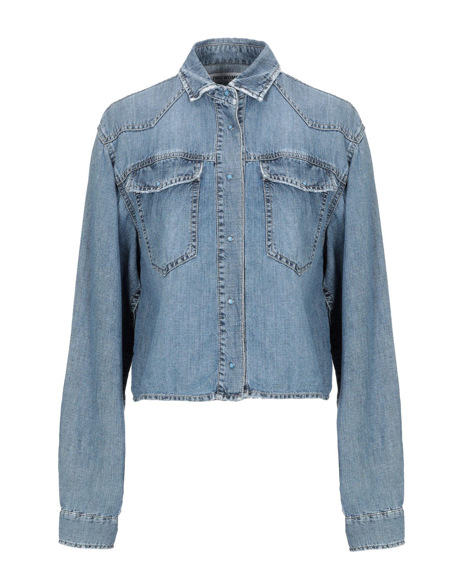 2W2M Джинсовая рубашка недорго, оригинальная цена