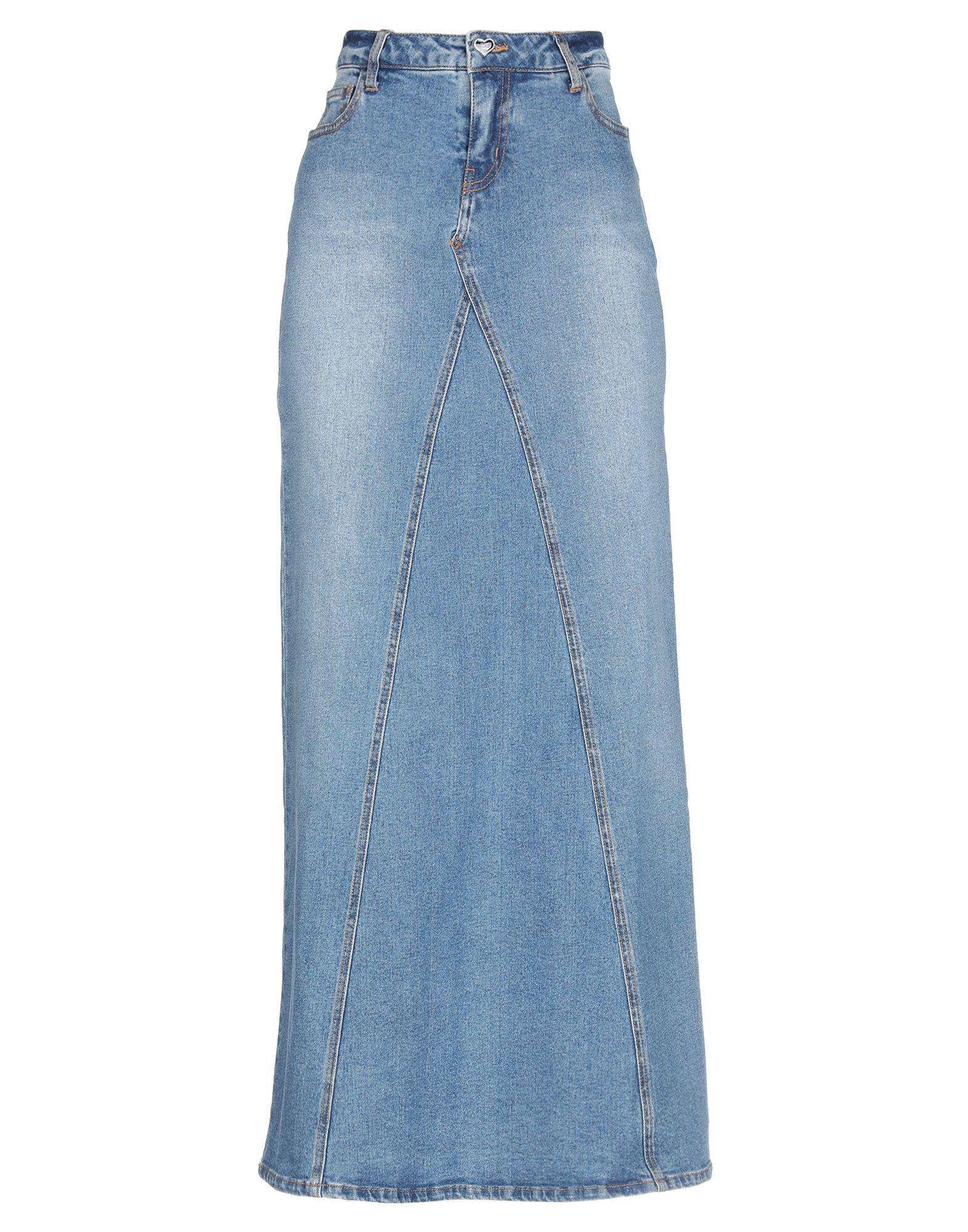 все цены на MY TWIN TWINSET Джинсовая юбка онлайн