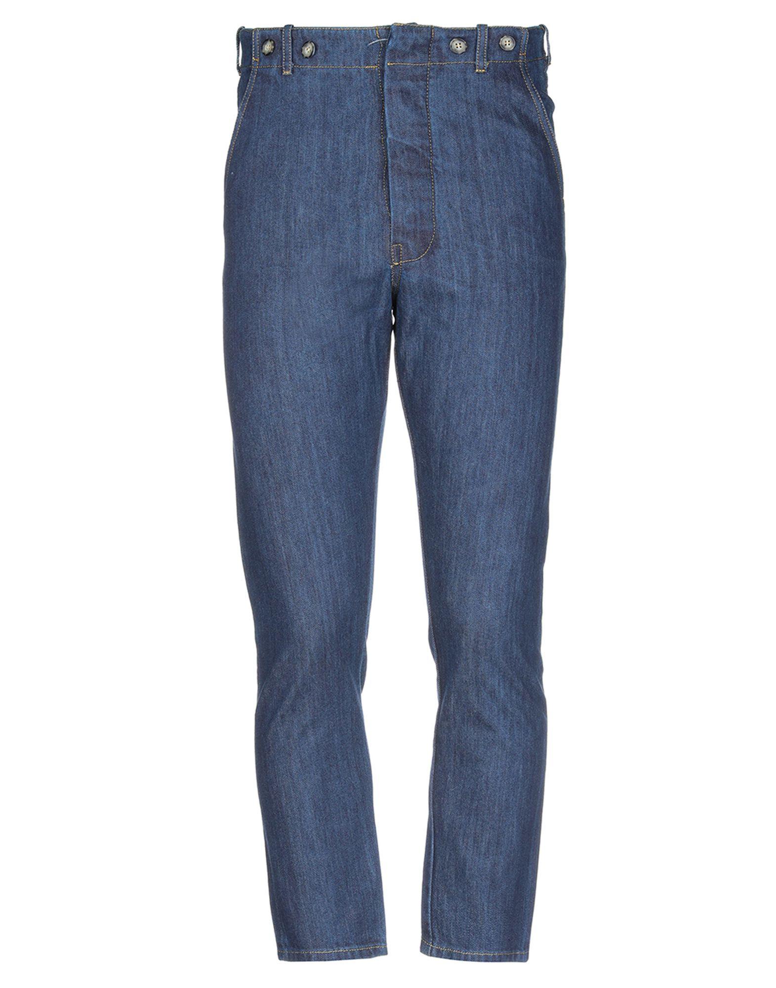 ERMANNO GALLAMINI Джинсовые брюки цена и фото