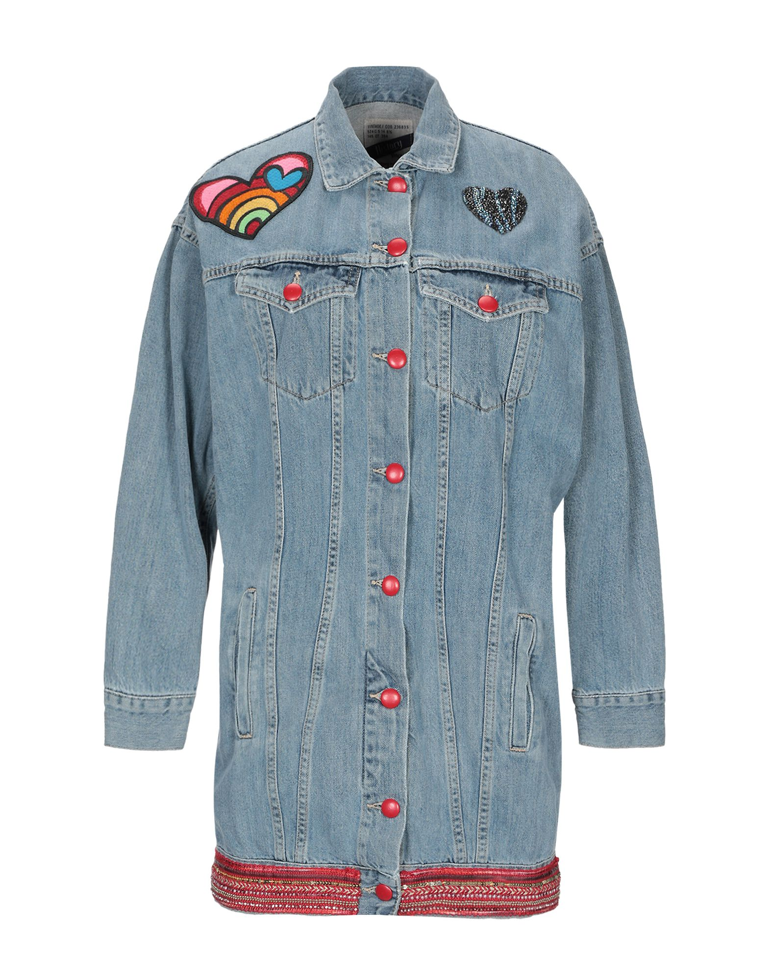 History Repeats Tops DENIM OUTERWEAR