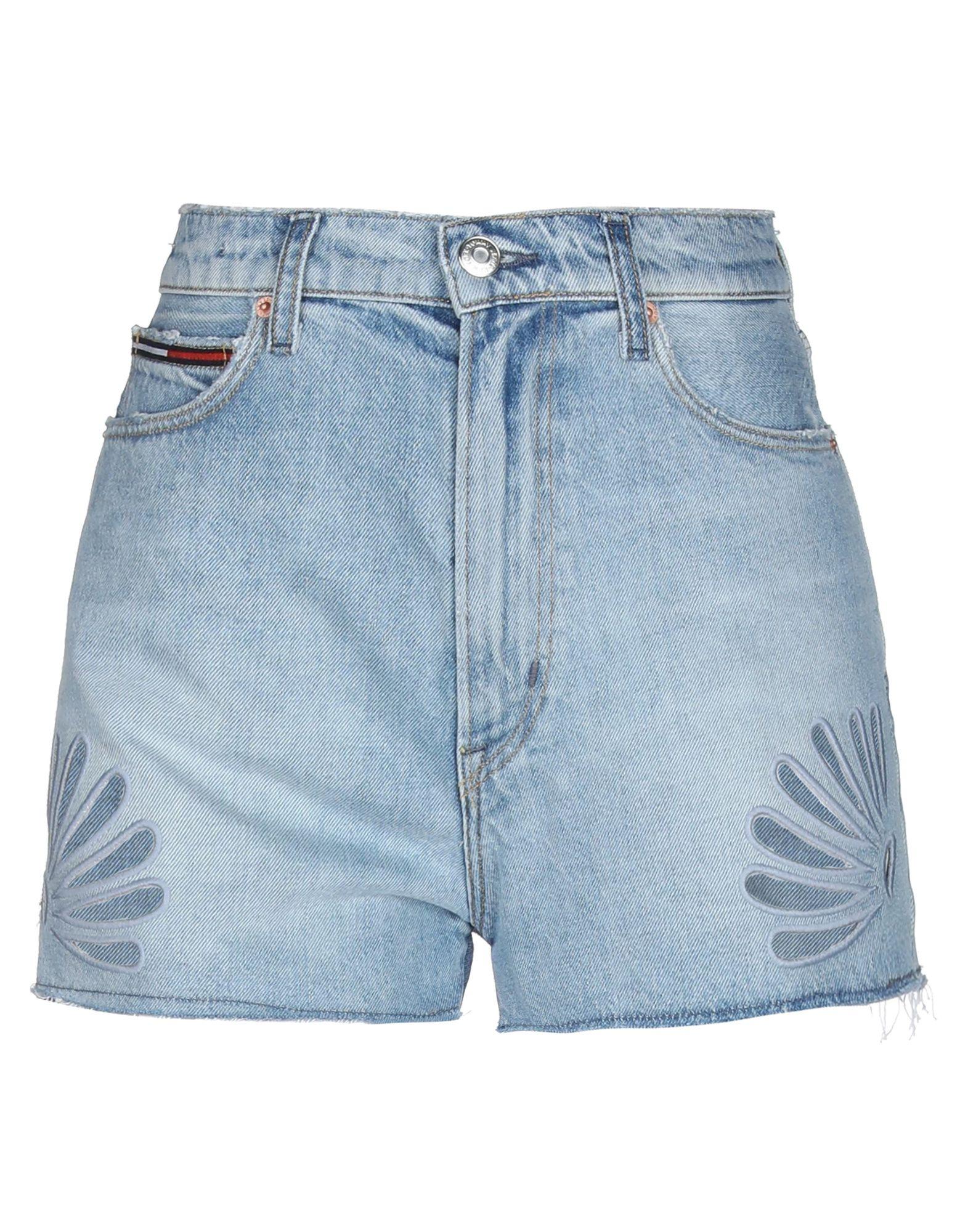 TOMMY JEANS Джинсовые шорты шорты джинсовые tommy jeans tommy jeans to052emebru4