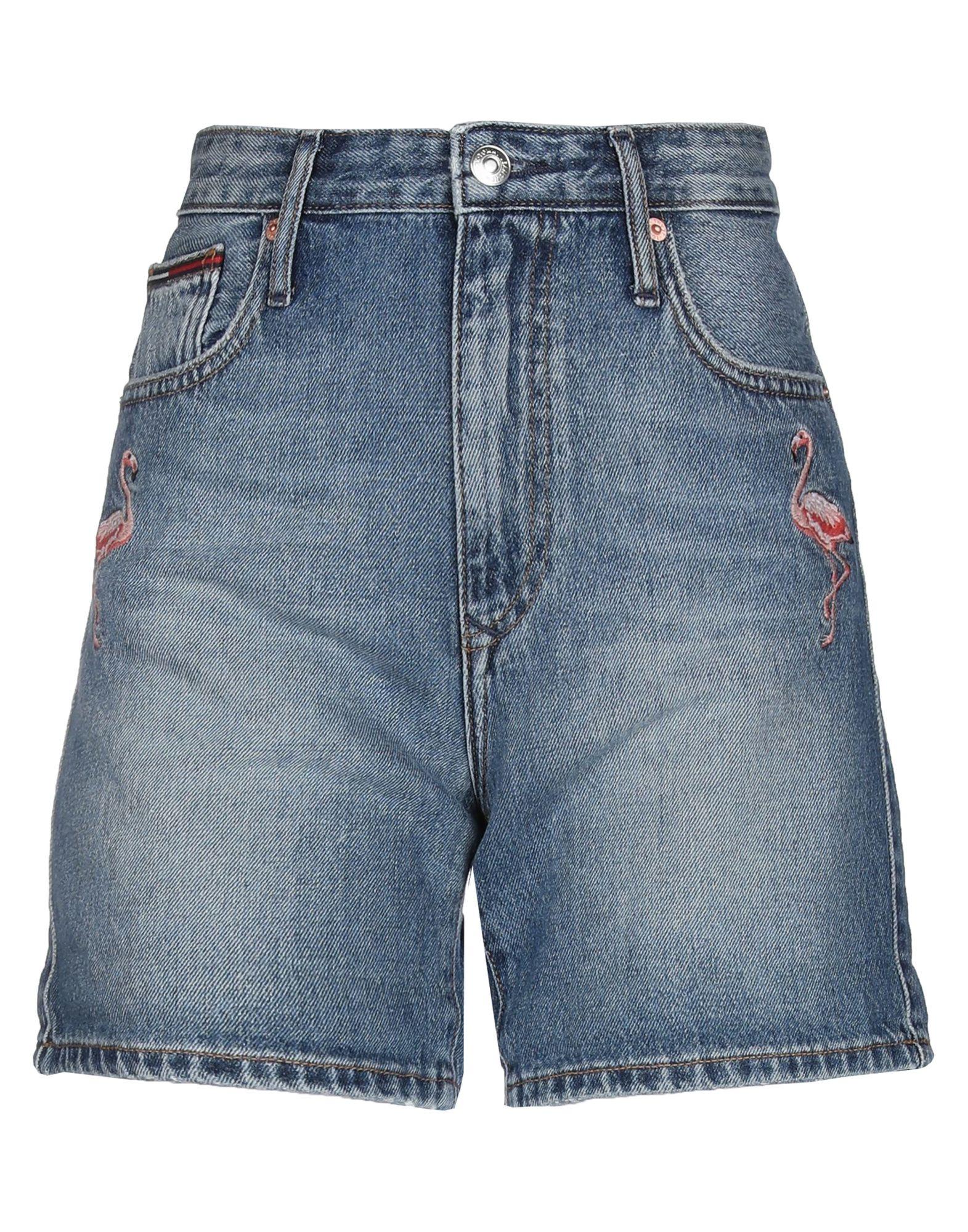 цены TOMMY JEANS Джинсовые шорты