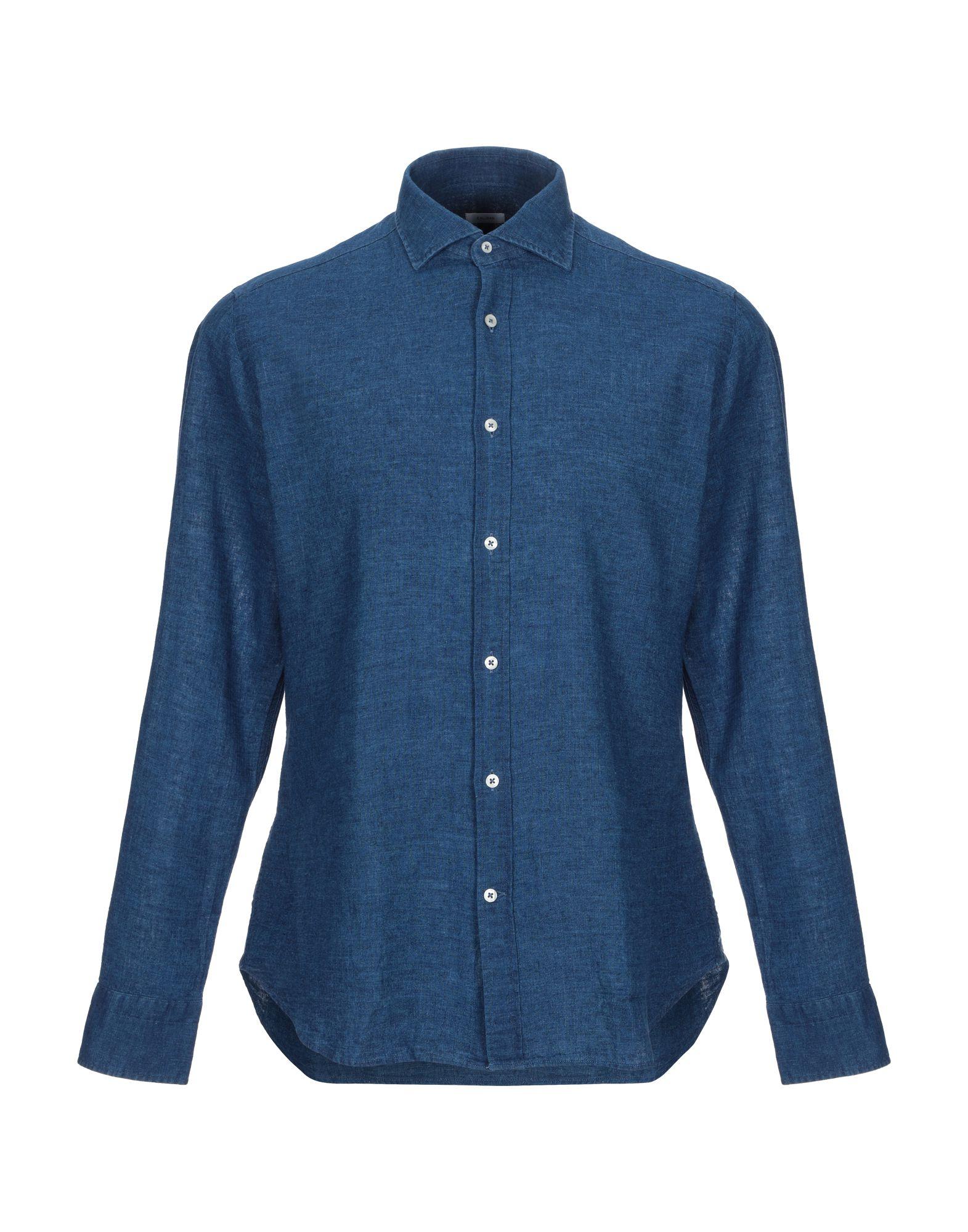 CALIBAN Джинсовая рубашка life sux джинсовая рубашка