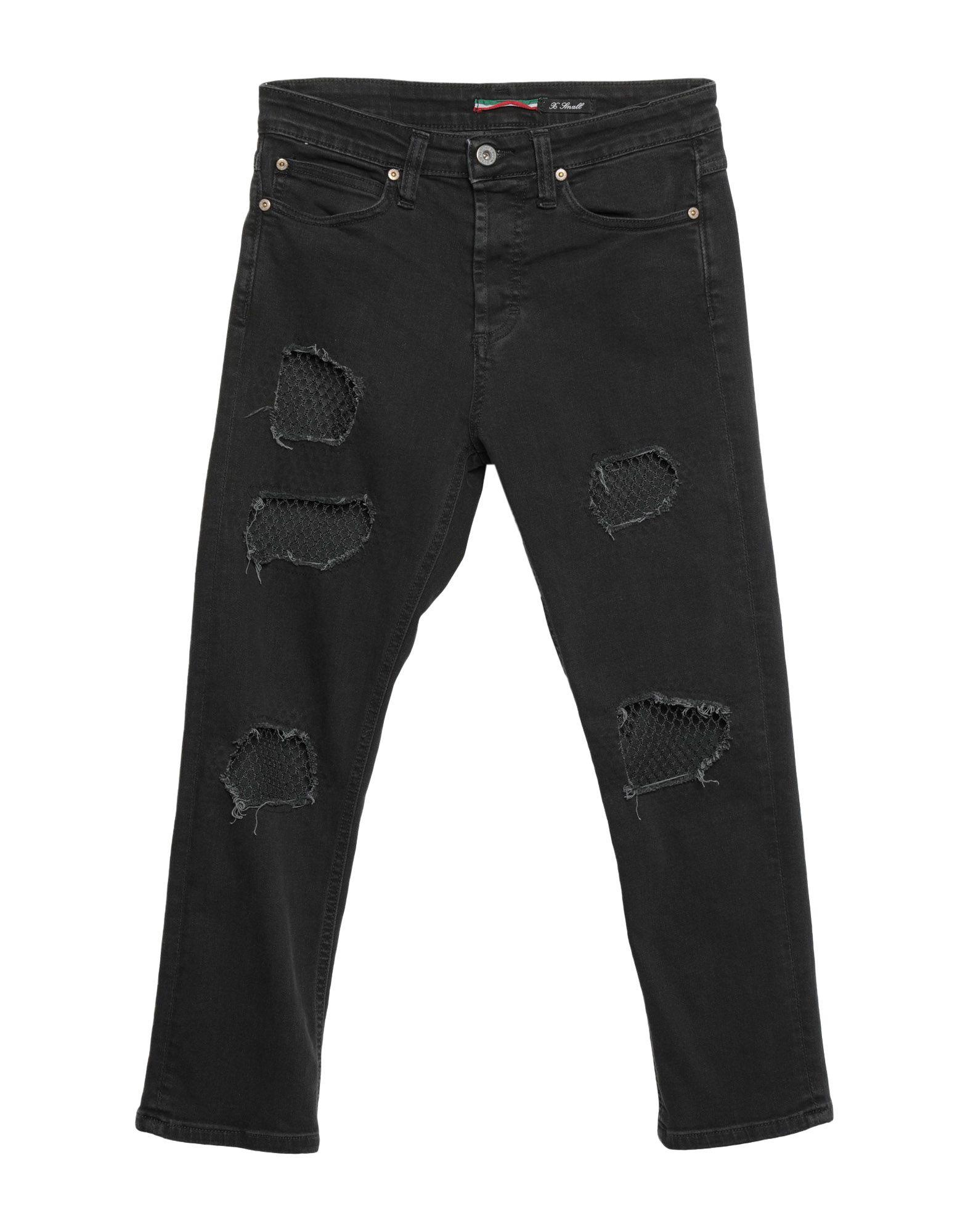 PLEASE Джинсовые брюки area джинсовые брюки