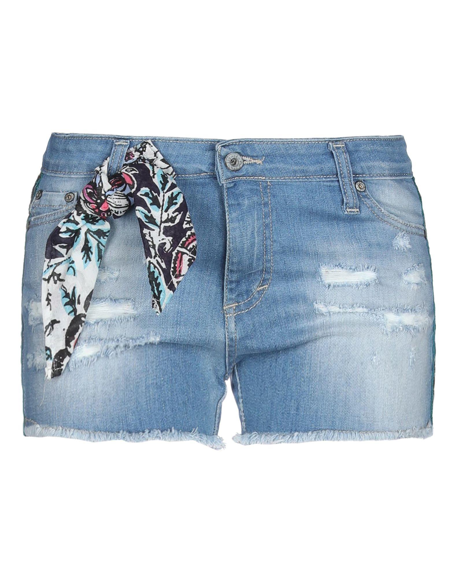 Фото - PLEASE Джинсовые шорты please джинсовые шорты