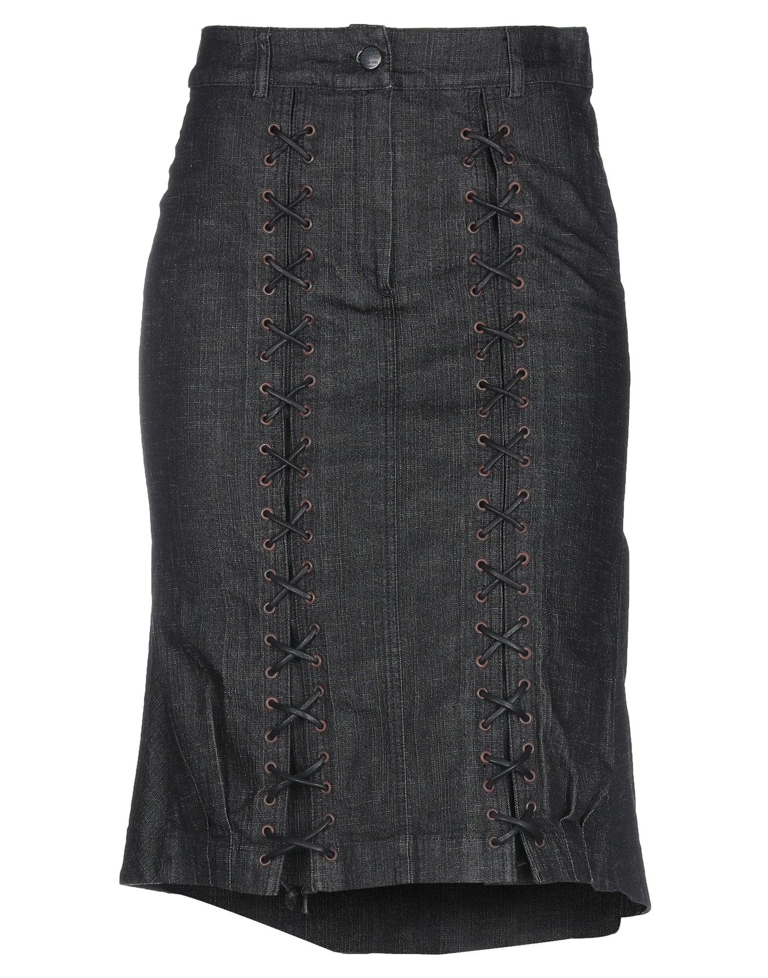 цены ISABEL DE PEDRO Джинсовая юбка